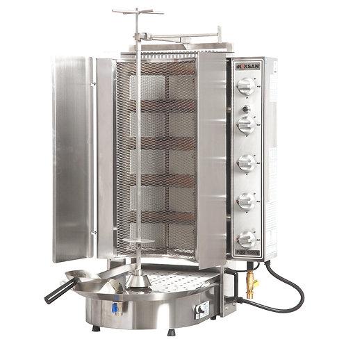 New Inoksan PDG500NM-NAT, 198 Lbs Natural Gas Gyro Machine, Bottom Motor