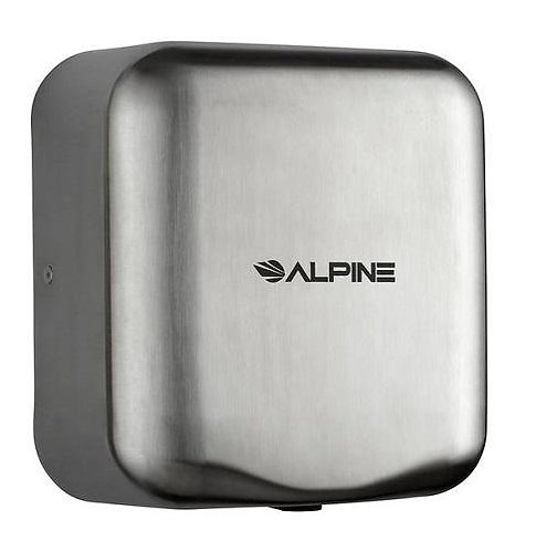New Alpine 400-10-SSB S/S 120-Volt High Speed Dry Electric Hand Dryer