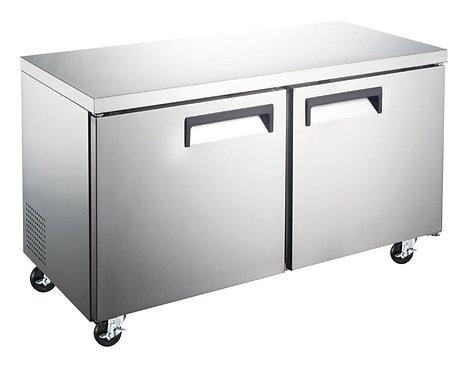 New Dukers DUC60R 2-Door Undercounter Commercial Refrigerator in S/S