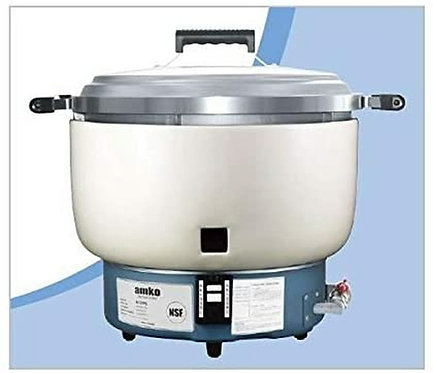 New Amko AK-55RC (55 Cups Uncooked Rice) Rice Cooker Natural Gas