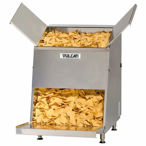 New Vulcan VCW46 Top Load Chip Warmer w/ 46 gallon Capacity - Stainless, 120v