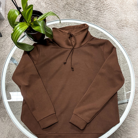 SuZa, Pullover braun