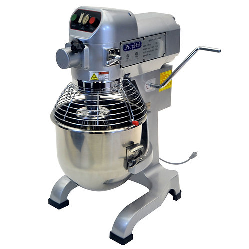 New PrepPal PPM-20 Heavy Duty Planetary 20 Quart Floor Dough Mixer