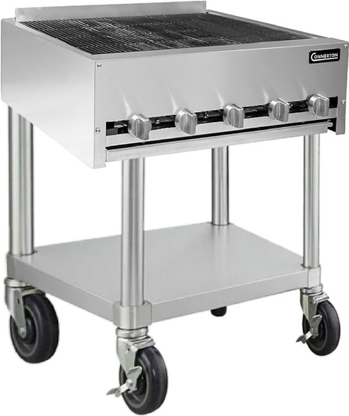 "New Connerton CRB-30-F (30"") Heavy Duty Radiant Charbroiler Floor Model LP"