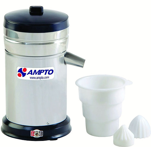 New Ampto ES4EA Heavy Duty Citrus Juicer 12.5 Gallons/Hr, 1/2 HP, 120 Volts