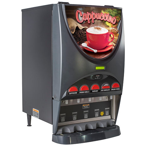 Mint Condition Bunn IMIX5 (5) Flavor Cappuccino   Machine