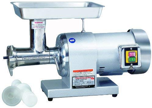 New Thunderbird TB-400E (#22) 1.5 HP Meat Grinder