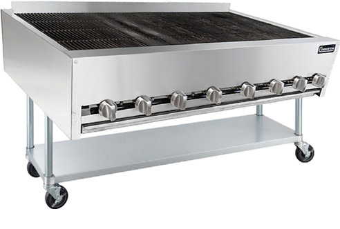 """New Connerton CRB-48-F (48"""") Heavy Duty Radiant Charbroiler Floor Model NG"""