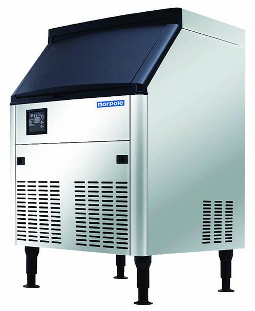 New Norpole NPCIM210 (210 LB) Air Cooled Half Cubed Ice Machine