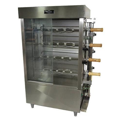 New Gas Chicken Rotisserie FRG4VE -16 Chicken by Metal Supreme