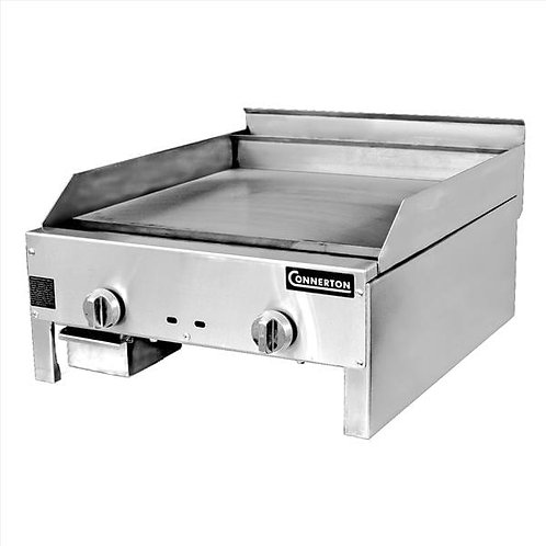 """New Connerton CEG-22-M (22"""") Manual Budget Flat Griddle 1"""" Grilling Plate NG"""