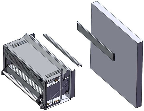 New CookRite Wall Mount Kit For Models ATCM-36 & ATSB-36