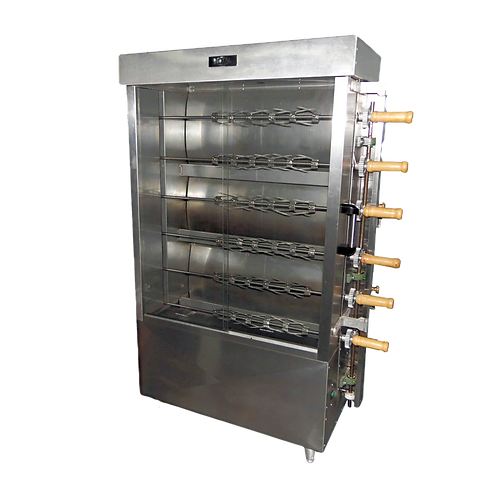 New Gas Chicken Rotisserie FRG6VE - 30 Chicken by Metal Supreme