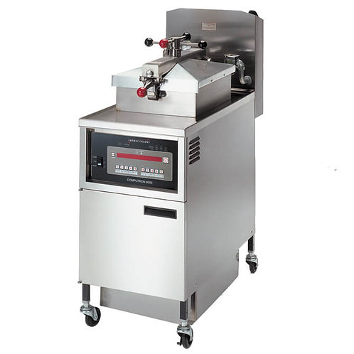 New Henny Penny PFG-600 Gas Pressure Fryer with Computron 8000 Controls NAT Gas