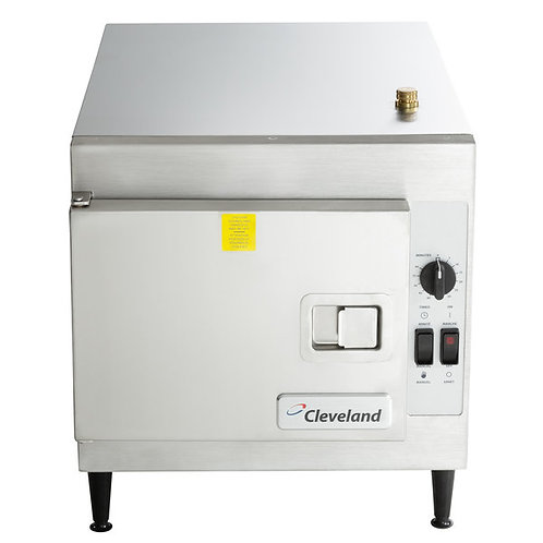 New Cleveland 21CET8 SteamCraft Ultra 3 Pan Electric Countertop Steamer 240v/1ph