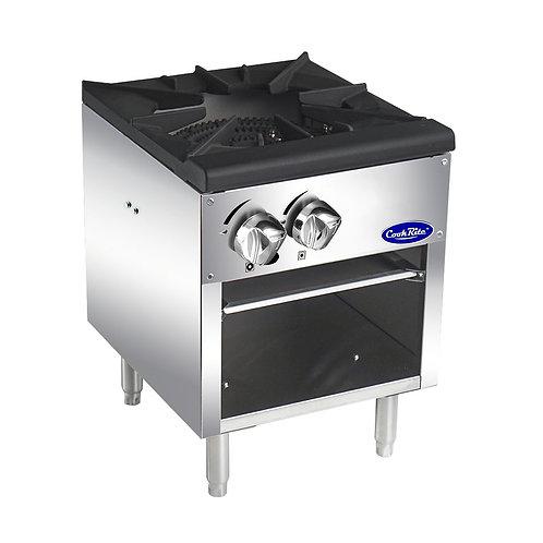 """New CookRite ATSP-18-1 (18"""") Stock Pot Burner Natural Gas"""