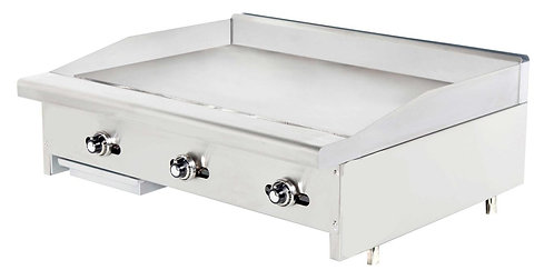 """New Connerton CG-36-T (36"""") Thermostatic Griddle 1"""" Grilling Plate Thickness NG"""