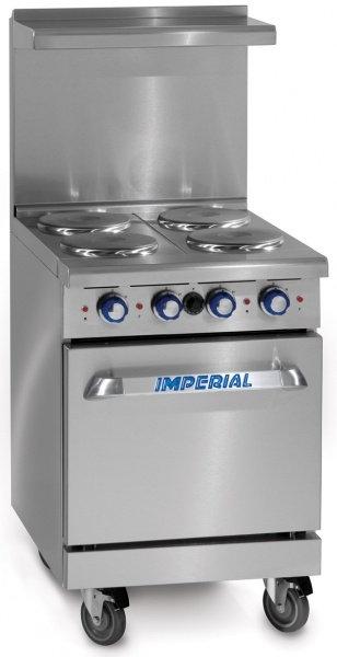 New Imperial Range IR-4-E Electric Range 24in. - 4 Burner