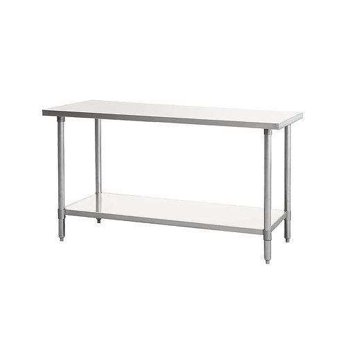"New PrepPal SSTW-3072 (30"" x 72"") All Stainless Steel Work Table"