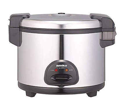 New Amko Ak-50rc 30 Cups 62 Bowls Electric Rice Cooker and Warmer 120V