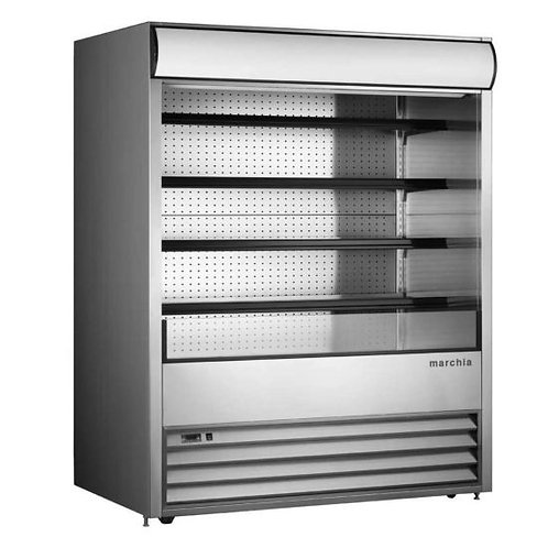 "New Marchia MDS72 (72"") Open Merchandiser Refrigerator, Self Contained"