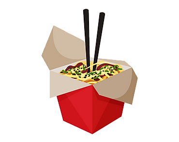 chinese-food-box-with-chopsticks-on-whit