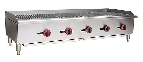 "New Cookline CCB-60 (60"") Radiant Charbroiler Griddle"