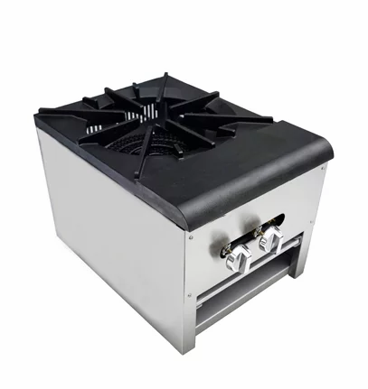 "New Cookline CSP-1 (18"") Single Stock Pot Burner 110,000 BTU"