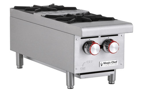 New Magic Chef MCCHP12A (2) Heavy Duty Hotplate Natural Gas