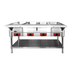 "New CookRite CSTEA-4 / CSTEB-4 58"" Electric Steam Table"