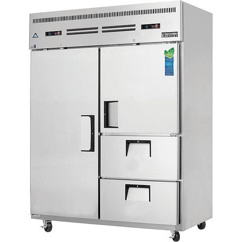 New Everest ESWQ2D2 Reach-In Refrigerator Freezer