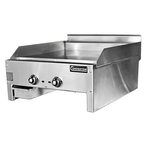 "New Connerton CG-24-T (24"") Thermostatic Griddle 1"" Grilling Plate Thickness NG"