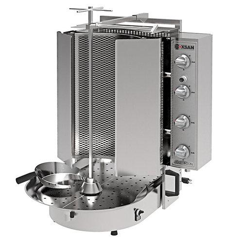New Inoksan PDG400NM-NAT, 165 Lbs Natural Gas Gyro Machine, Bottom Motor