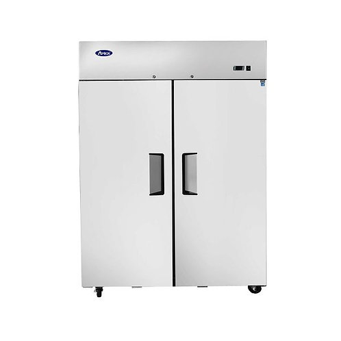 New Atosa MBF8002GR Top Mount (2) Door Upright Freezer