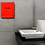 Thumbnail: New Alpine 405-10-RED Willow High Speed Commercial Hand Dryer, 120V, Red