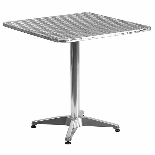 """New 27.5"""" x 27.5"""" Aluminum Seating Table"""