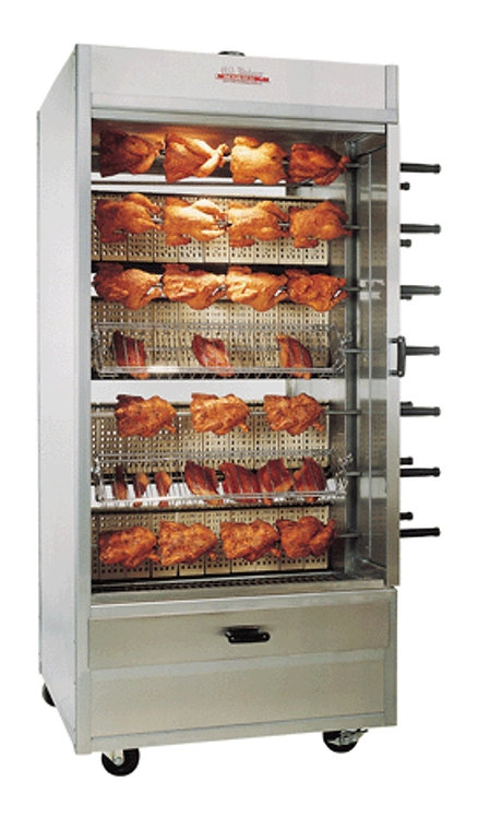 New Old Hickory N/14G 84 Chicken Commercial Rotisserie Oven - Natural Gas