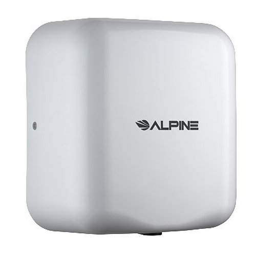 New Alpine 400-10-WHI White Color 120-Volt High Speed Dry Electric Hand Dryer