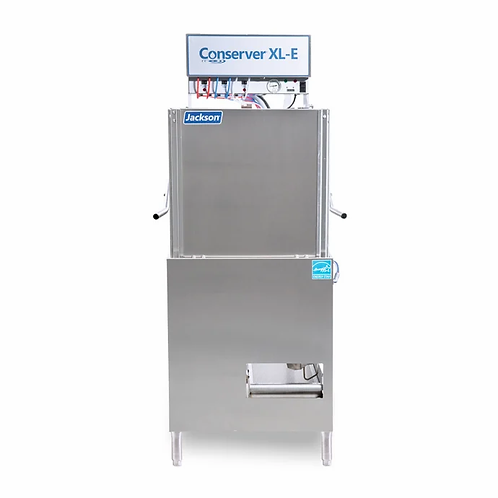 New Jackson CONSERVER XL-E Low Temp Door Type Dishwasher w/ 39 Racks/hr Capacity