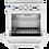 Thumbnail: New Cookline CR24-4 (4) Burner Range With Standard Oven Natural Gas 151,000 BTU