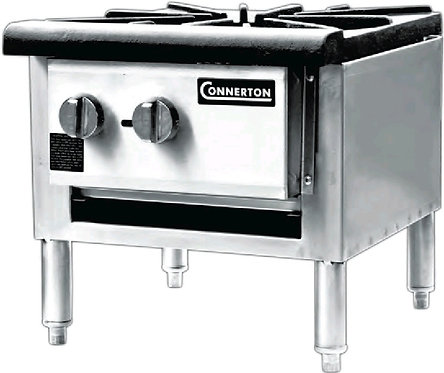 New Connerton CSP-18-3S Heavy Duty Low Profile Stock Pot Stove NG