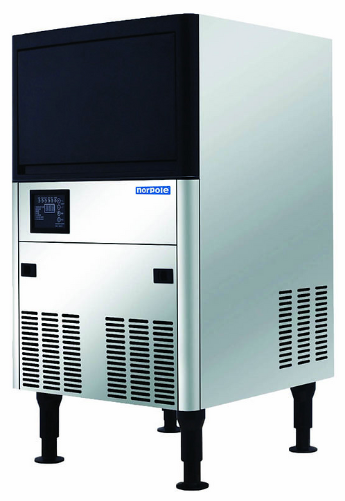New Norpole NPCIM120H (120 LB) Ice Machine, Air Cooled, Half Cube Style