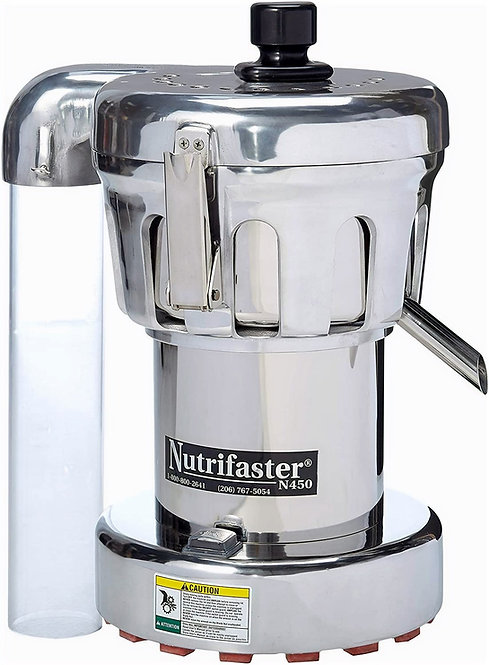 New Nutrifaster N450 Multi Purpose Juicer 1.25 HP 110V