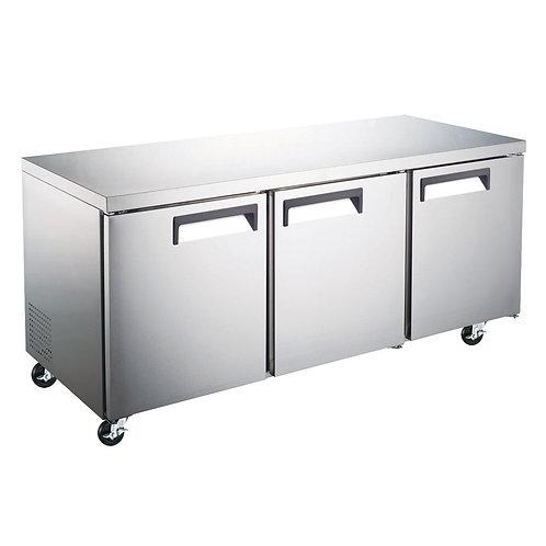 New Dukers DUC72R 3 Door Lowboy Refrigerator