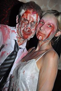Zombie couple....