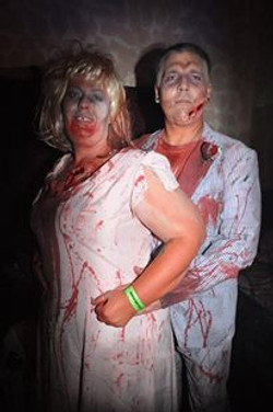 Zombie photo op