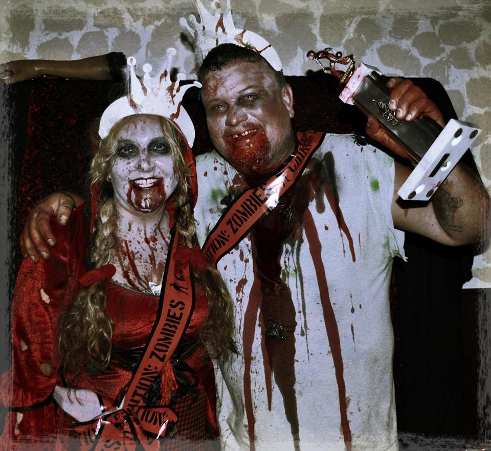 Zombie Ball King & Queen