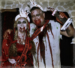 Zombie Ball King & Queen