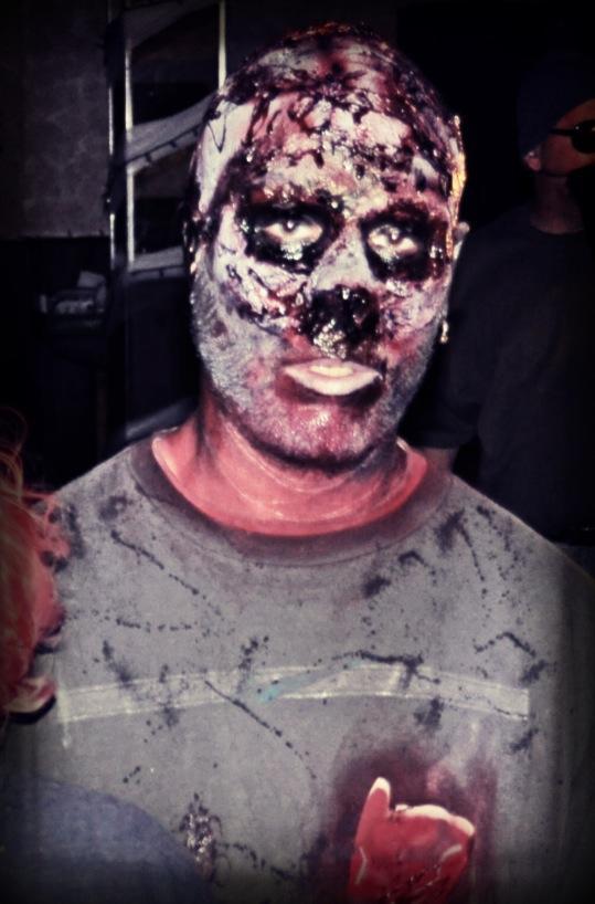 Zombie Toaster Man.