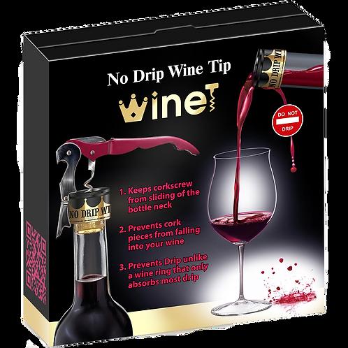 Winet Corkscrew & 2 Wine Tips
